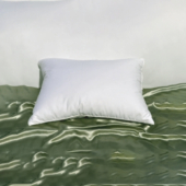 feather pillow, bed pillow