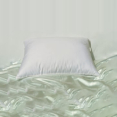 hotel pillow, motel pillow, feather pillow