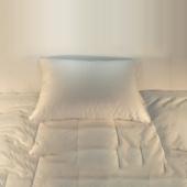 down alternative pillow, Cluster pillow